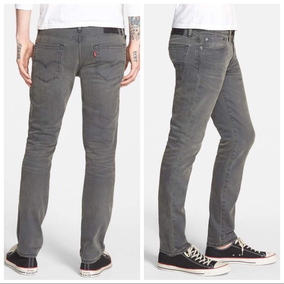 be159b60cc6 Levi's Jeans | Mens 511 Slim Fit Stretch Jean Grey Denim 31x32 ...